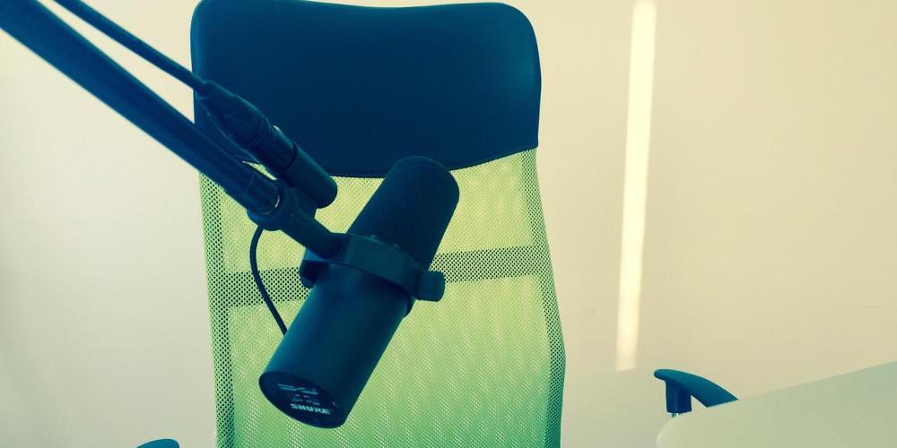 mikrofon nagrywanie wymowy