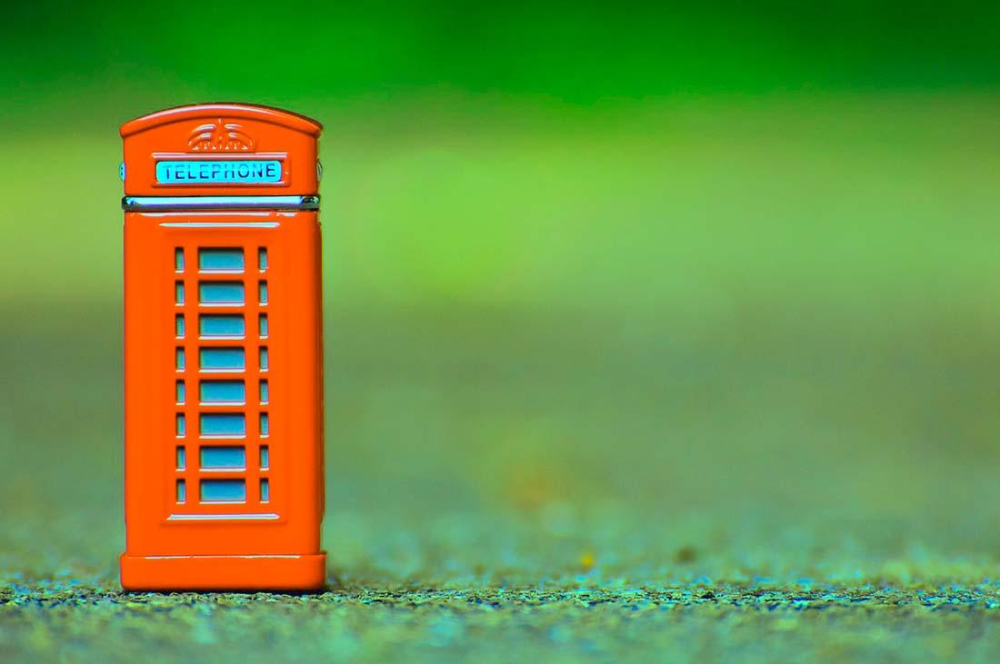 Budka telefoniczna Anglia