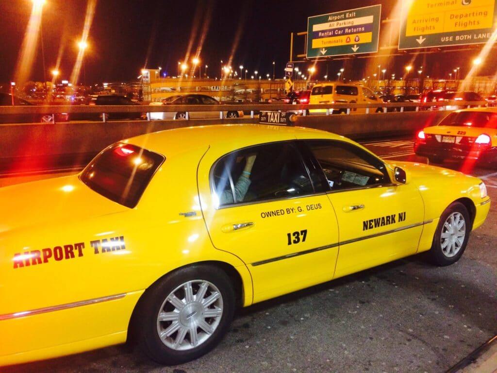 Yellow Cab, czyli o nowojorskich żółtych taksówkach
